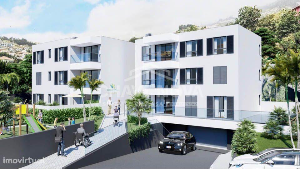 Apartamento T2 em construção nas Madalenas (Funchal)