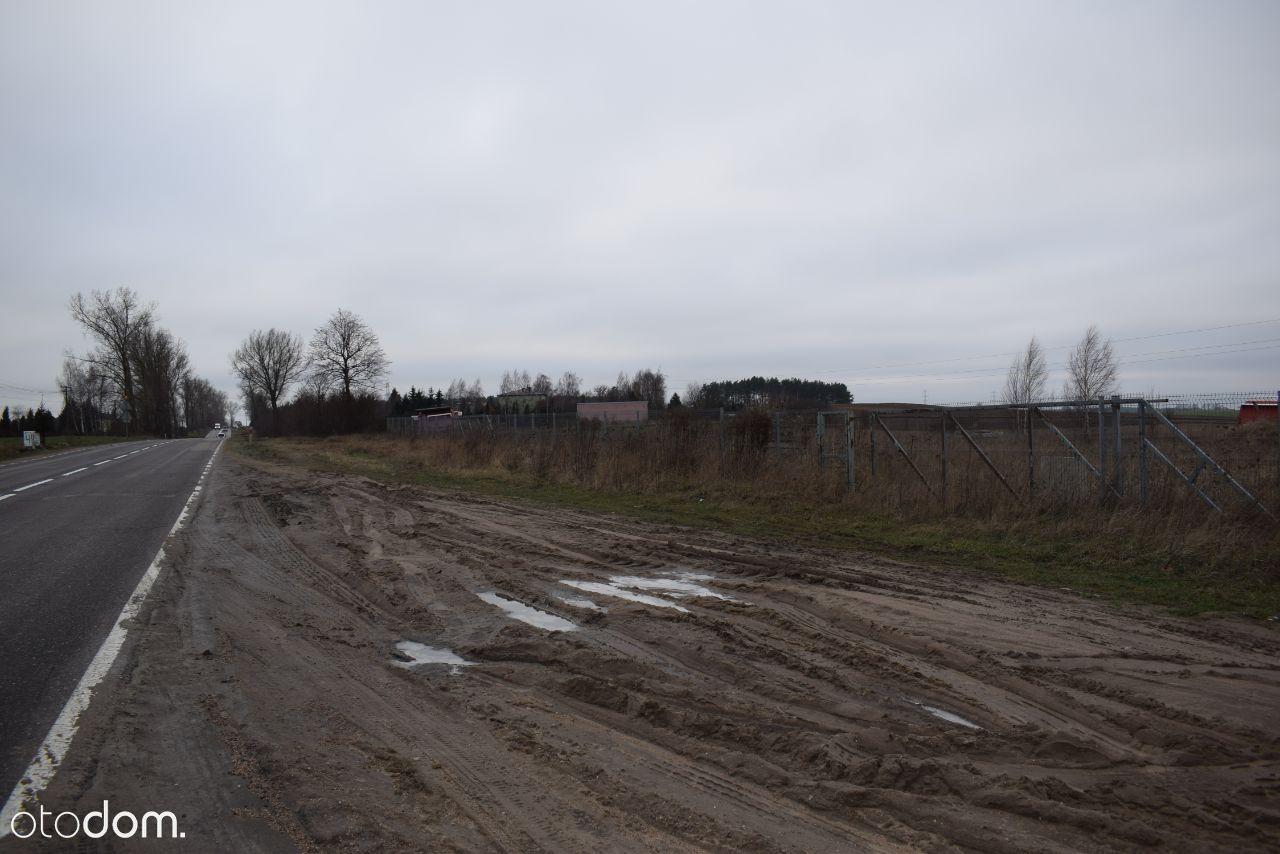 Działka budowlano-usługowa w Konarzycach