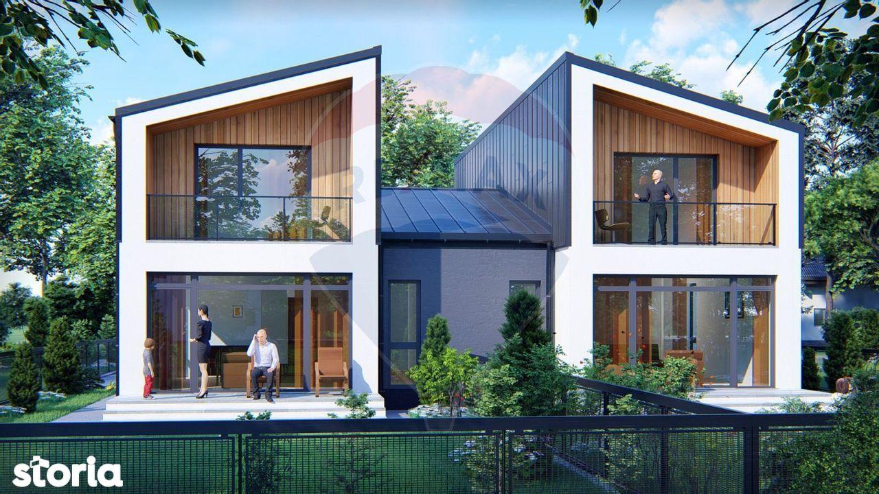 Vila in Duplex - Arhitectura Deosebita - 350mp Teren