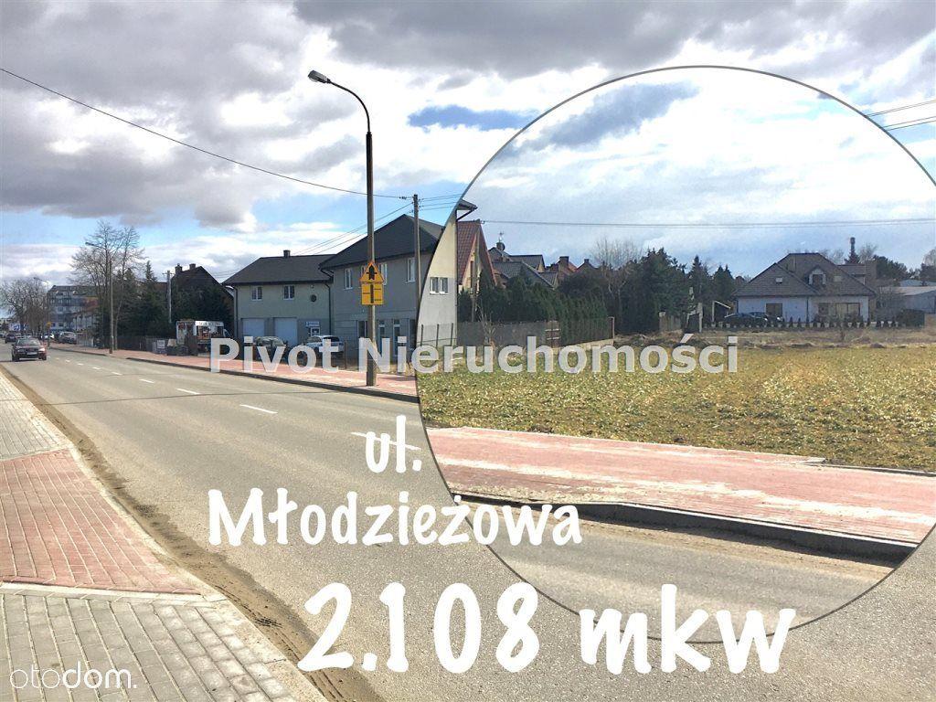Działka Płońsk, 2108 mkw, ul. Młodzieżowa
