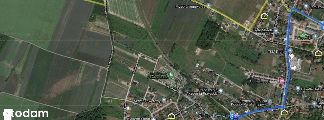 Sprzedam działkę budowlaną Wrocław-Pawłowice