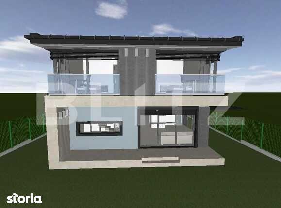 Casa individuala in Luna de Sus, 120 mp utili, 500 mp teren!