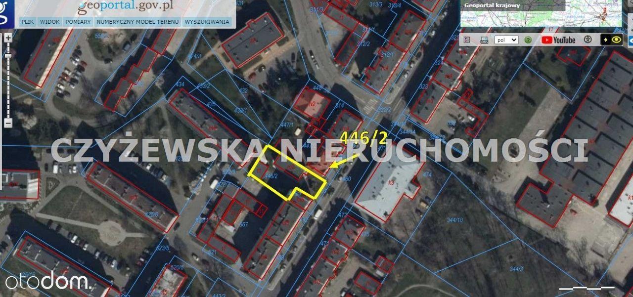 Nieruchomość przy ul. Sobieskiego 36 w Tczewie