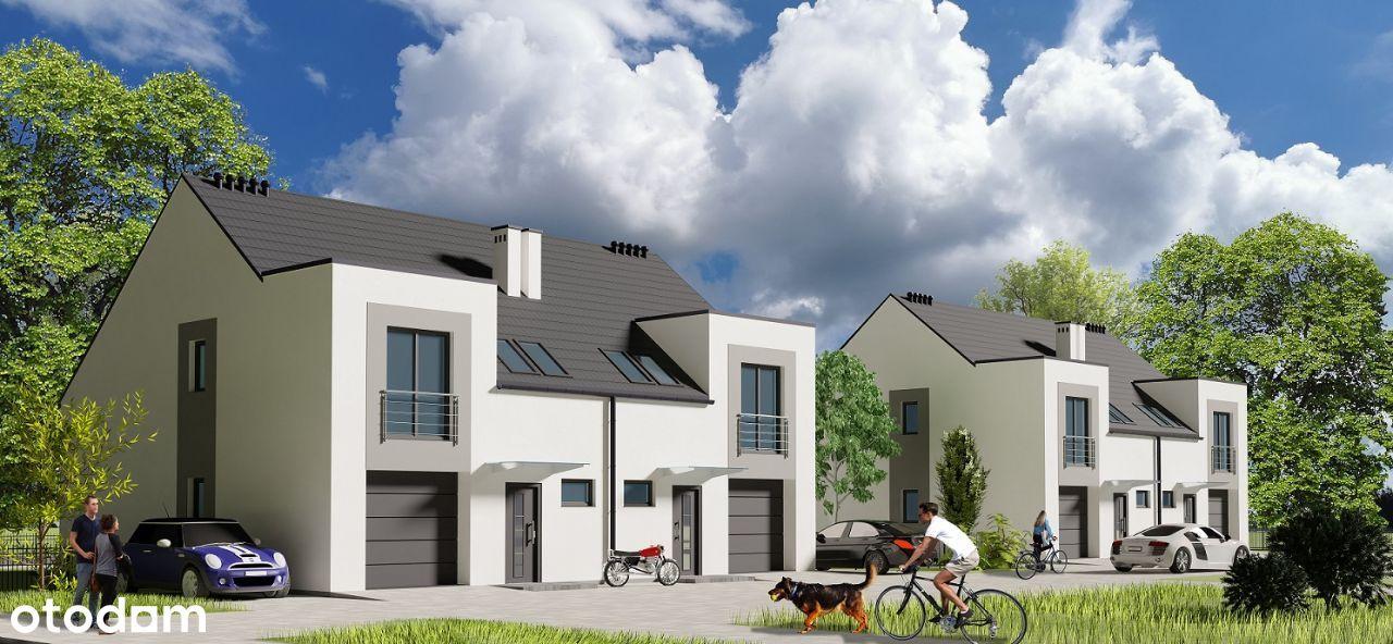 Nowy dom, bliźniak, 127 m.kw., Miłoszyce