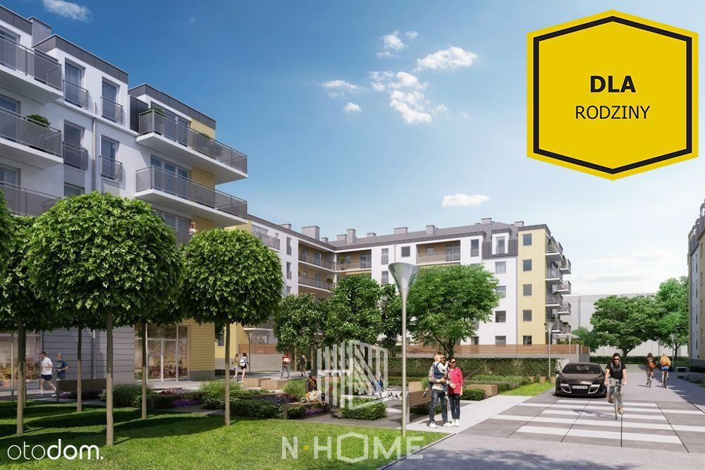 Słoneczne 3 Pokoje / Jagodno / Taras 15 m2