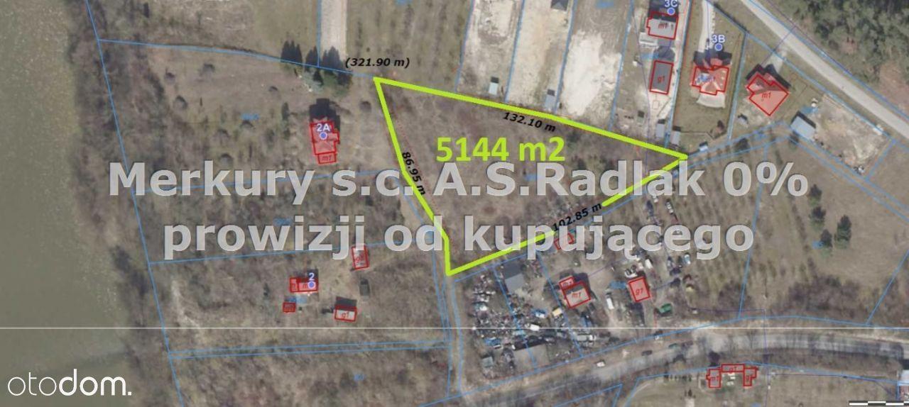 Działka, 5 144 m², Jakubowice