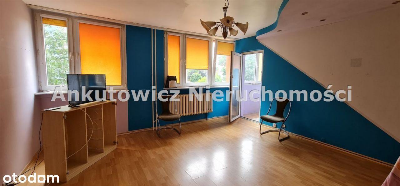 os.Przylesie, 3 pokoje, 1-piętro w bloku, balkon