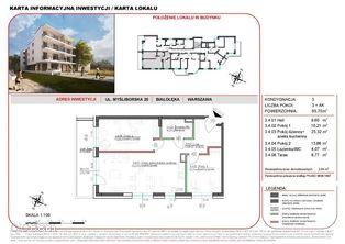 Mieszkanie w inwestycji Willa na Żeraniu 65,70 m2
