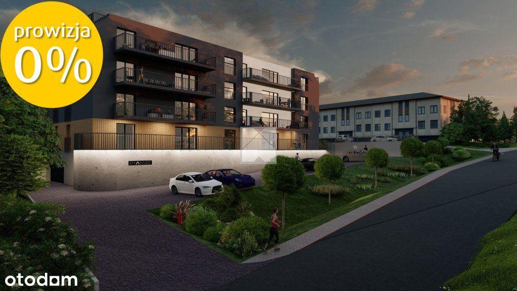 Mieszkanie na sprzedaż o pow. 53,7 m2 z ogródkiem