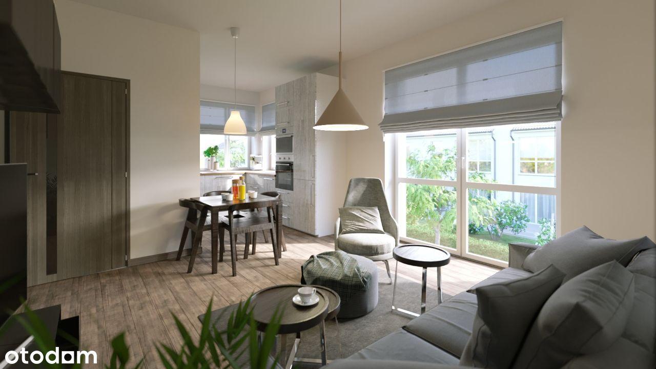 Przestronne mieszkania 47.64m2 + poddasze użytkowe