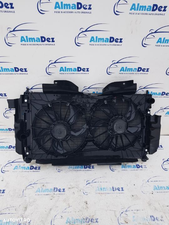 Radiatoare / radiator apa clima intercooler electroventilator Jeep Compass / Patriot 2.0crdi 2008 - 1