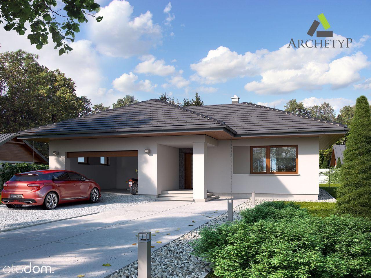 Rozpoczęta budowa domu 142,18m2 5km od Namysłowa
