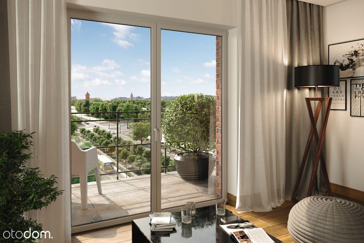 Mieszkanie -7 piętro balkon garaż widok KRZYKI LUX