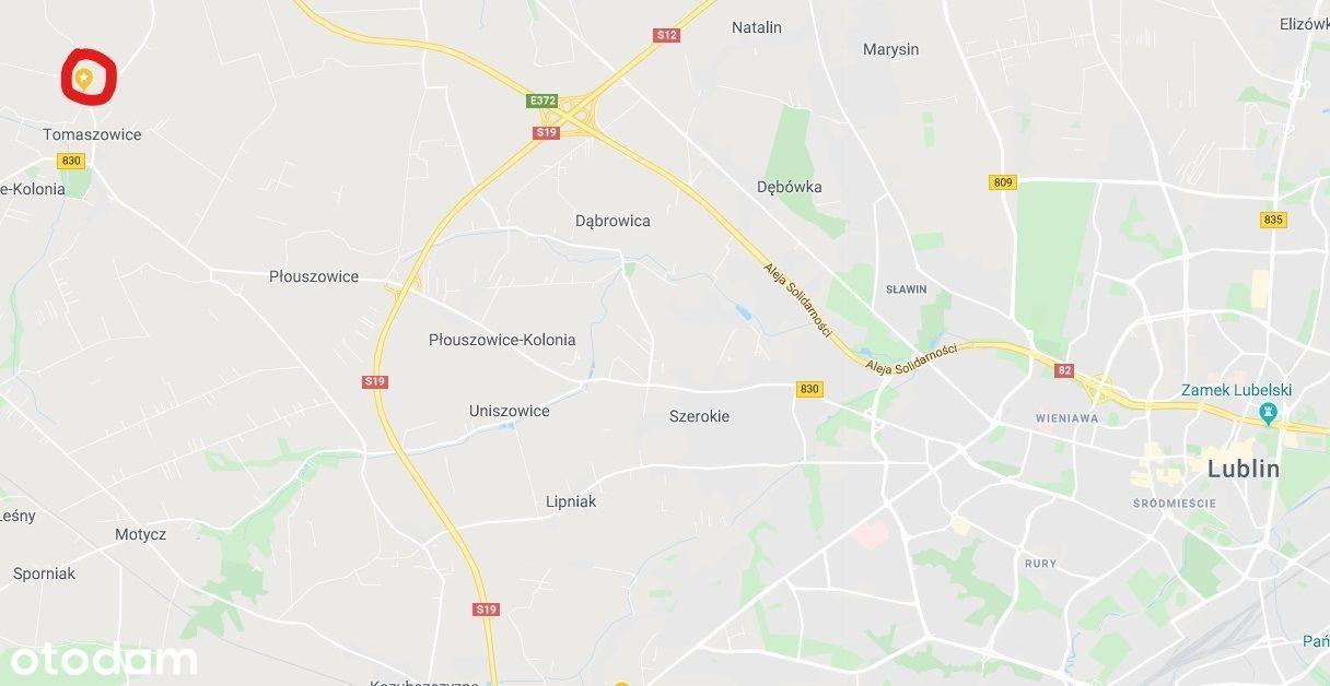 Działka inwestycyjna 999.000 PLN netto 1,41 ha