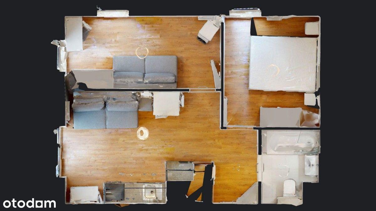 Widok 3D//Wynajmę 3p mieszkanie//Mokotów