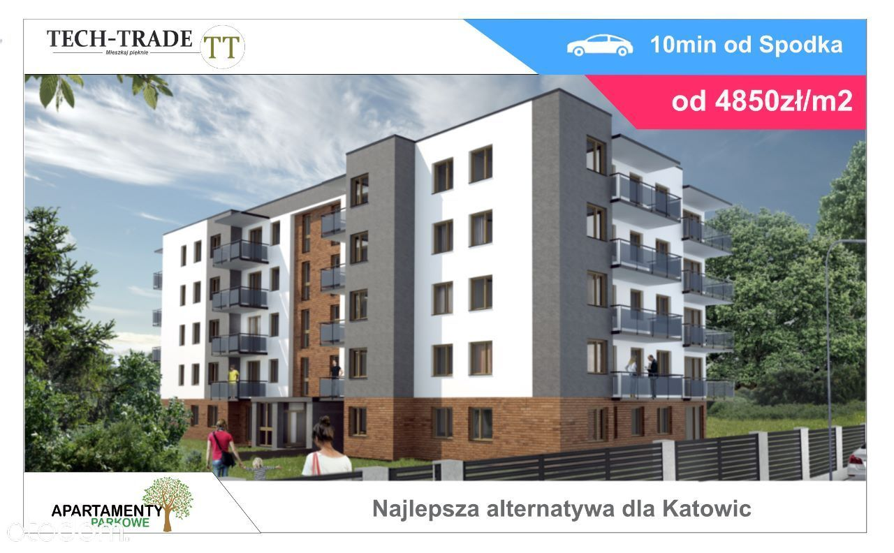 Nowe Mieszkania - Zamieszkaj wśród zieleni