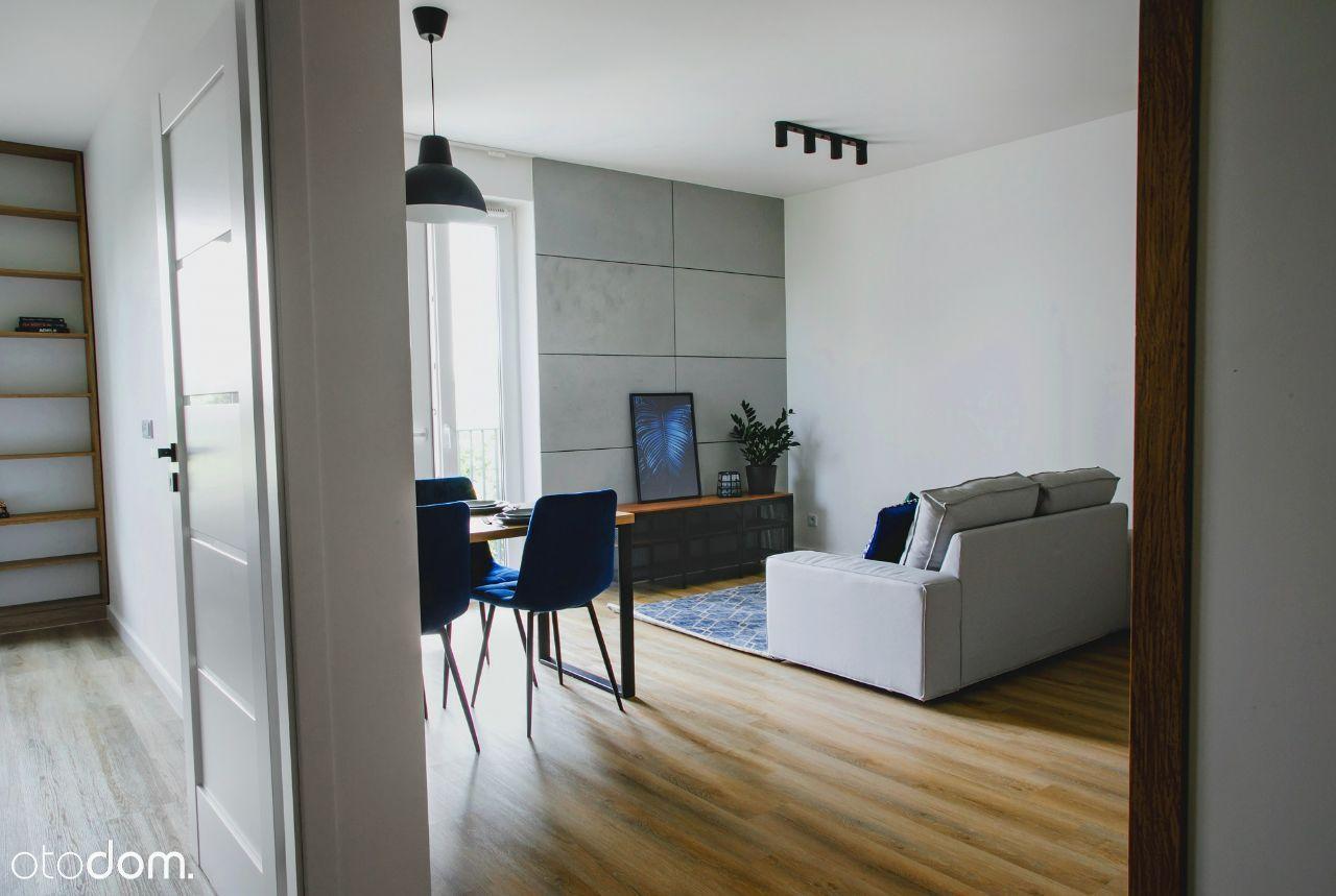 Wykończone mieszkanie 44,8 m2 + loggia 4,5m2