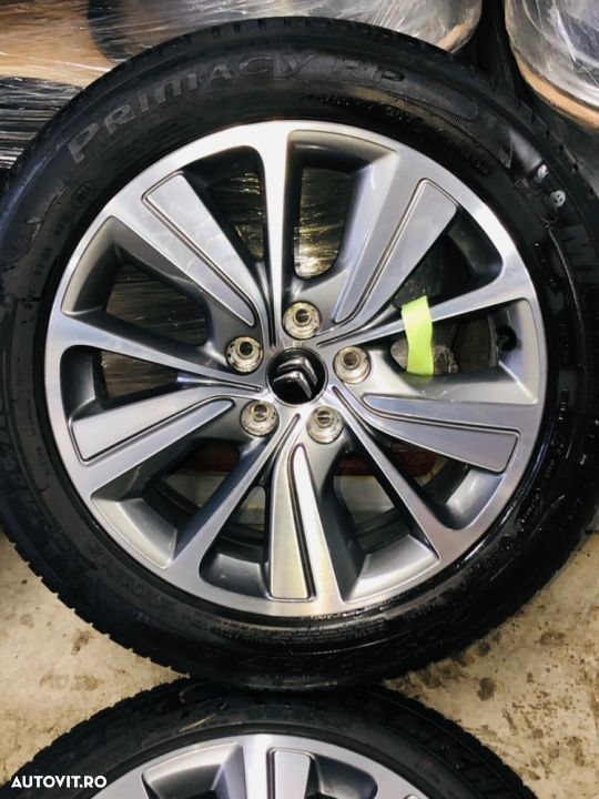 "Jante Citroën C4 Picasso , Grand Picasso , originale , 17"", anvelope vara Michelin - 3"