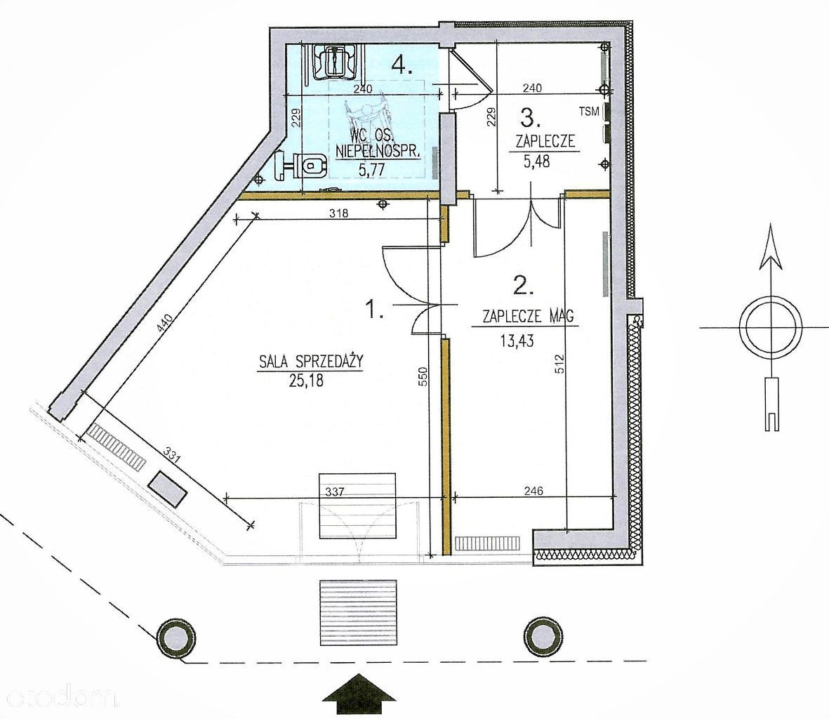 Młynowa 46 -obok ZUS– Parter, Duży Darmowy Parking