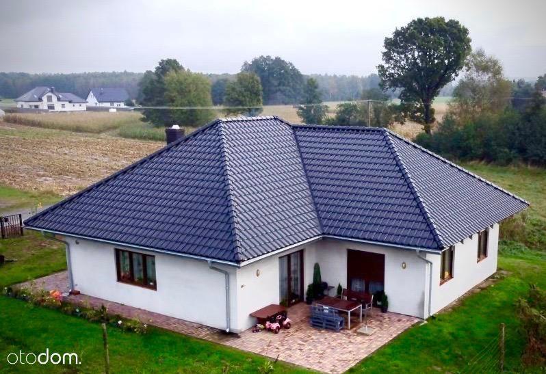Dom parterowy, Wioska koło Sycowa, działka 10 arów