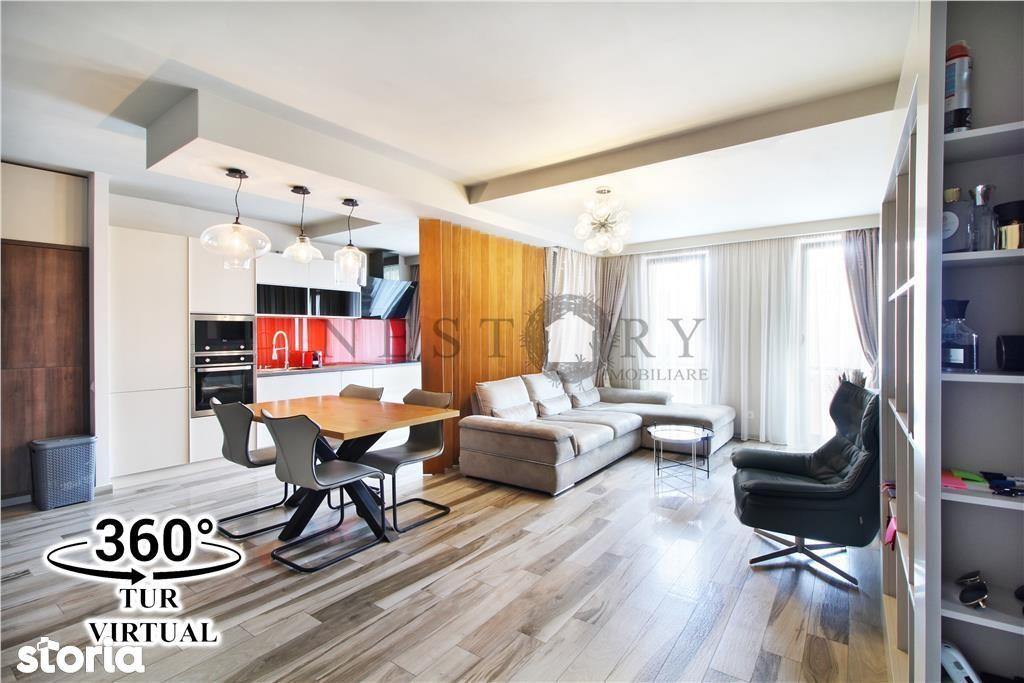 Apartament 3 camere, ULTRAFINISAT, parcare, Gheorgheni, Riviera Luxury