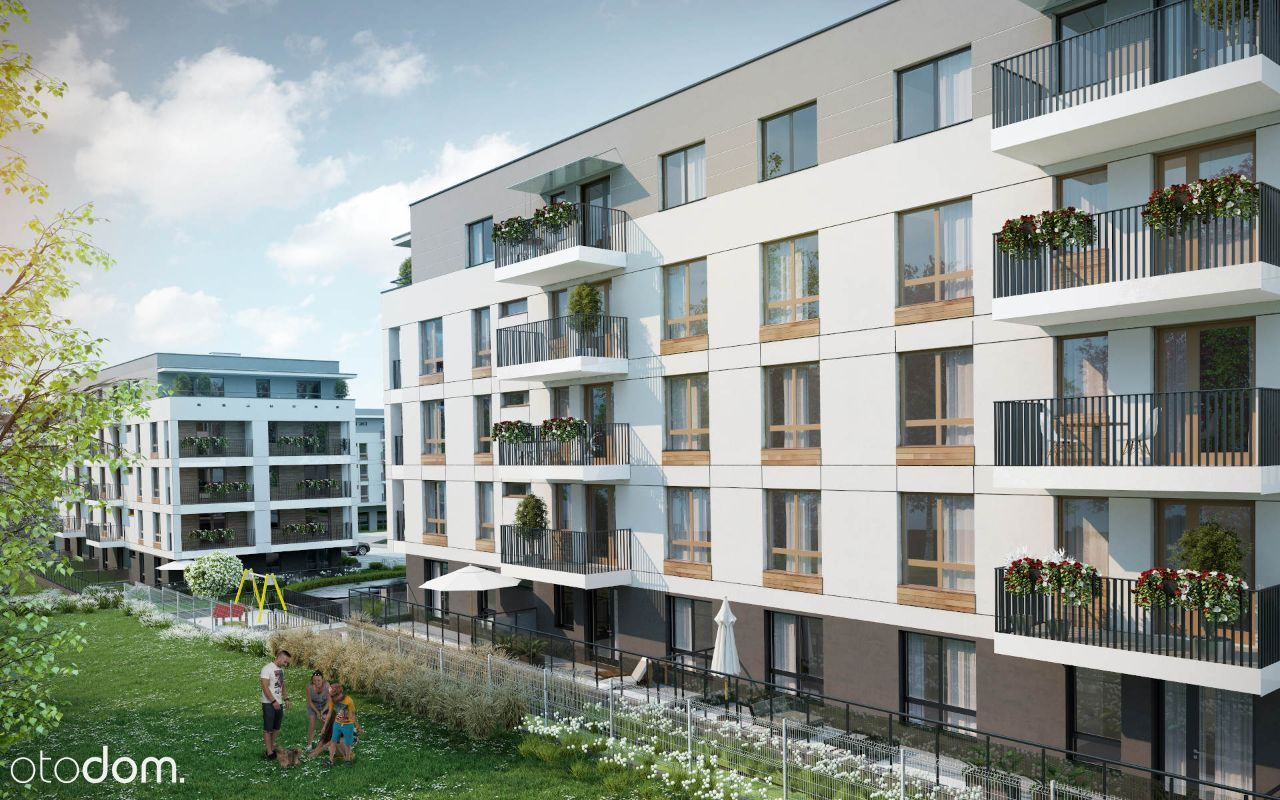 Osiedle Zacisze, piękne mieszkanie 3 pokoje balkon