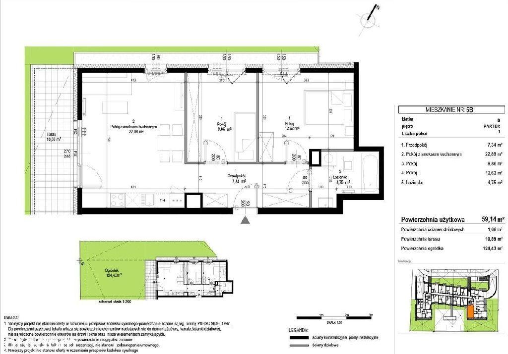 Mieszkanie z ogrodem 124m2 Wołomin, 0% prowizji!