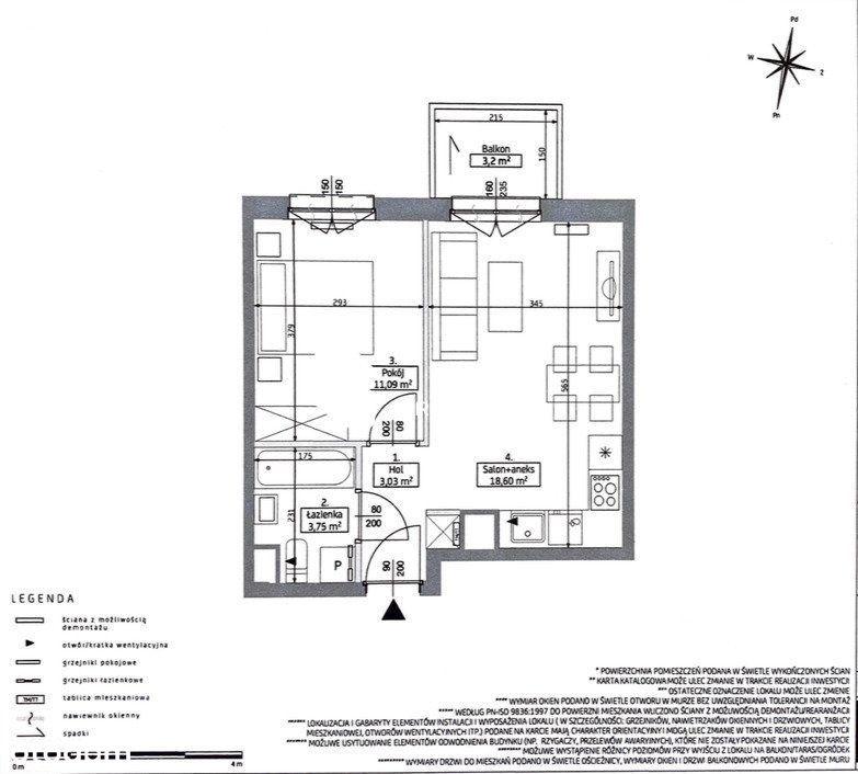 2 pokojowe mieszkanie Grunwald bez 2% Pcc