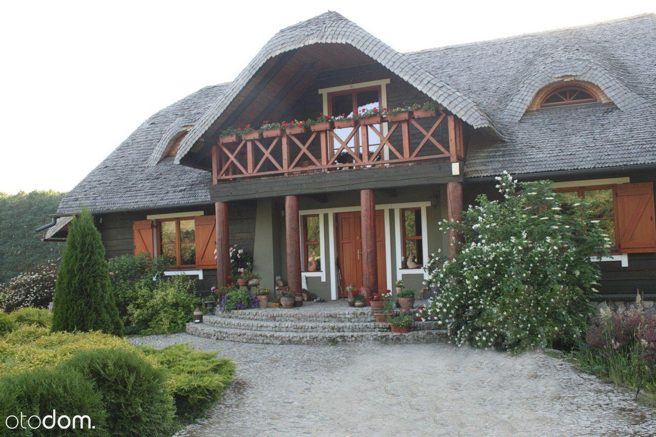Dom drewniany z bala świerkowego