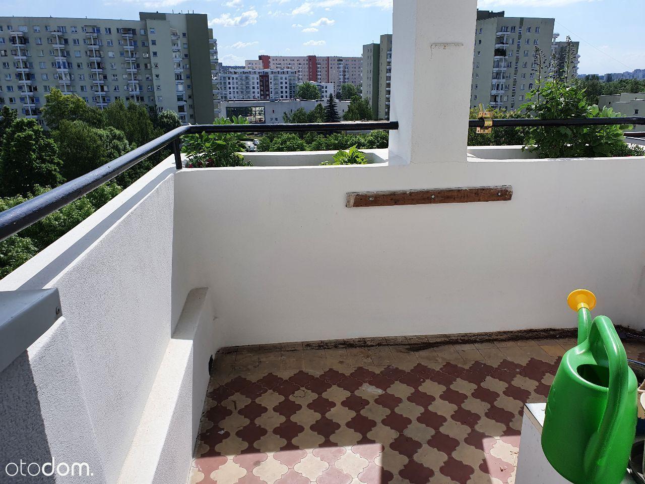Bez Prowizji. Przy metrze, super balkon i widoki.