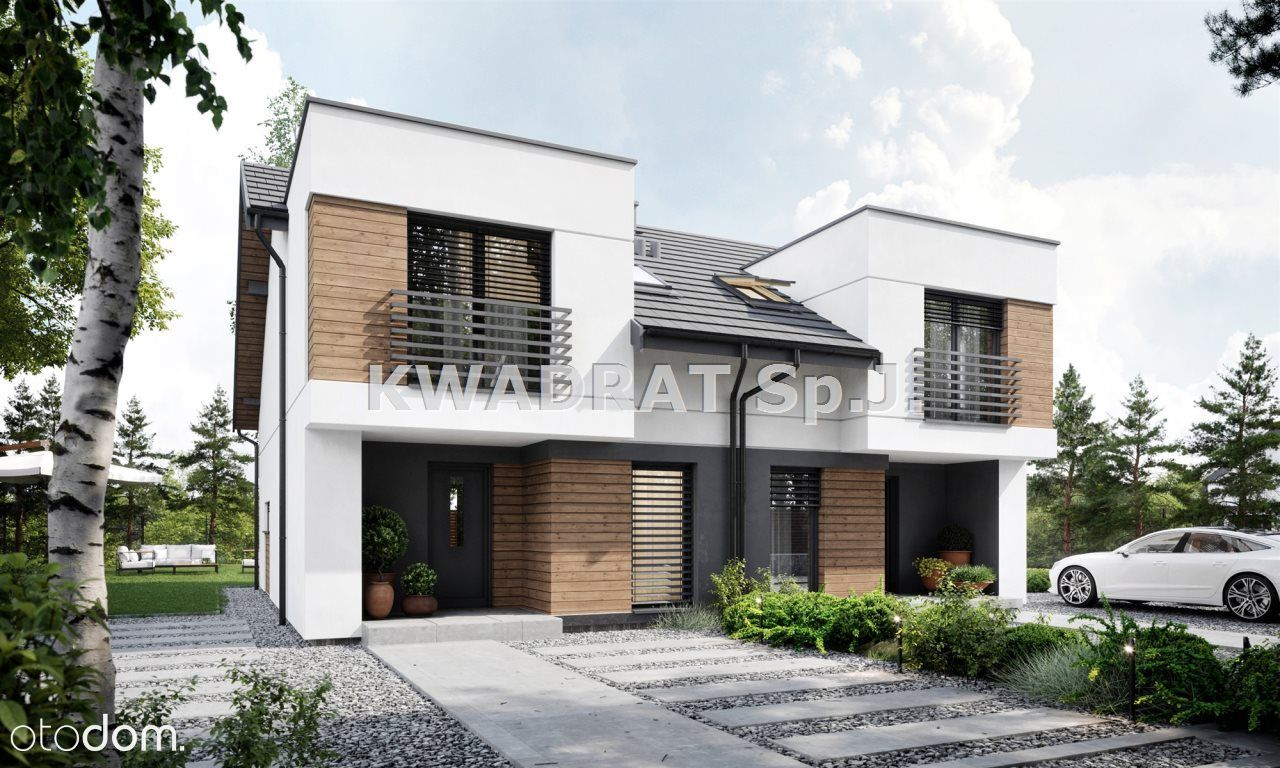 Dom, 91,55 m², Tabor Wielki