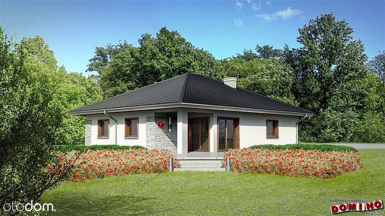 Dom w stanie surowym o pow. 136m. Cena 315.000 zł