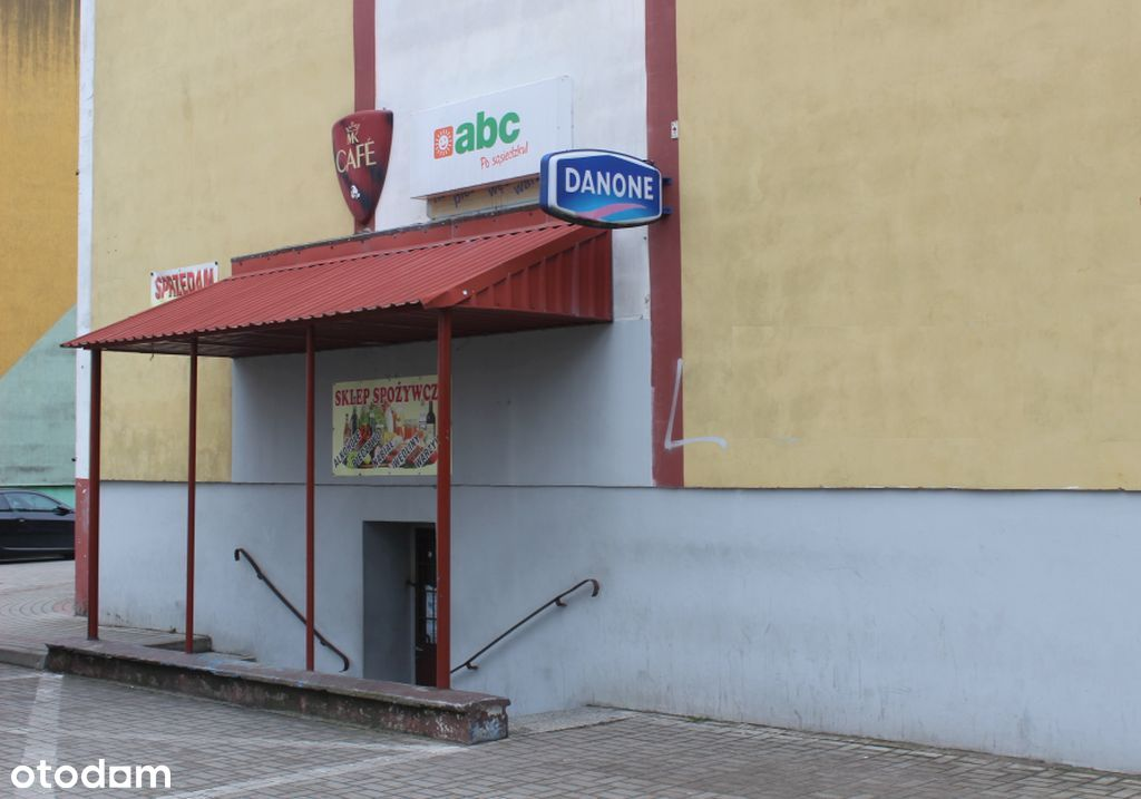 Funkcjonujący sklep na os. Narutowicza w Mławie