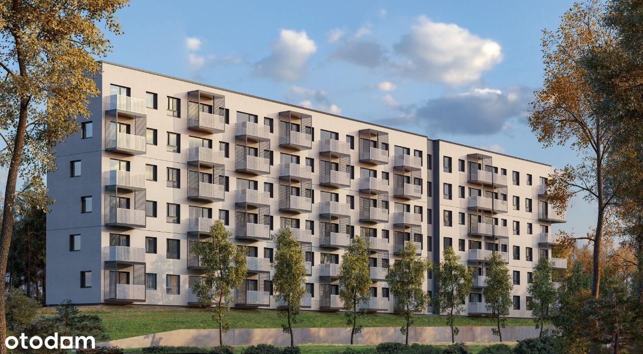 Bezczynszowe 2-pok. na IV piętrze z balkonem (M93)