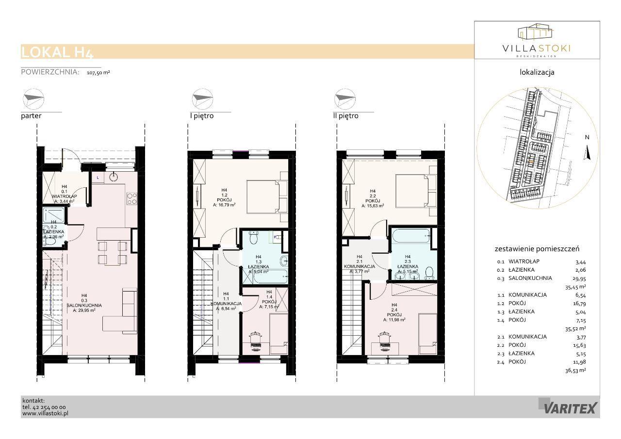 Dom typu 112 - Villa Stoki (dom H.04)