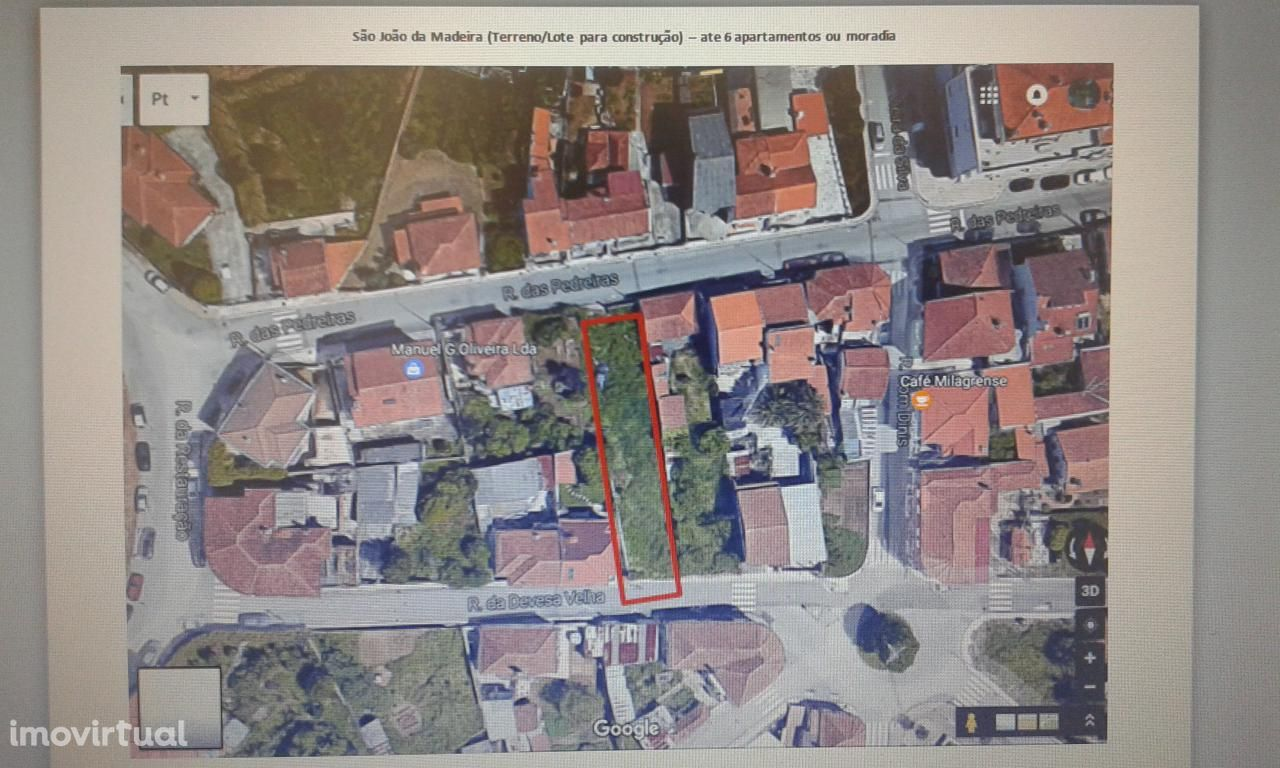 Terreno  Lote para construção seis apart ou moradia Zona Urbana SJM