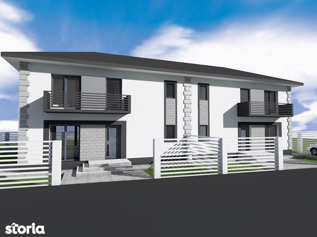 Duplex la cheie, Magurele - 4 camere, 2 bai terasa si pivnita