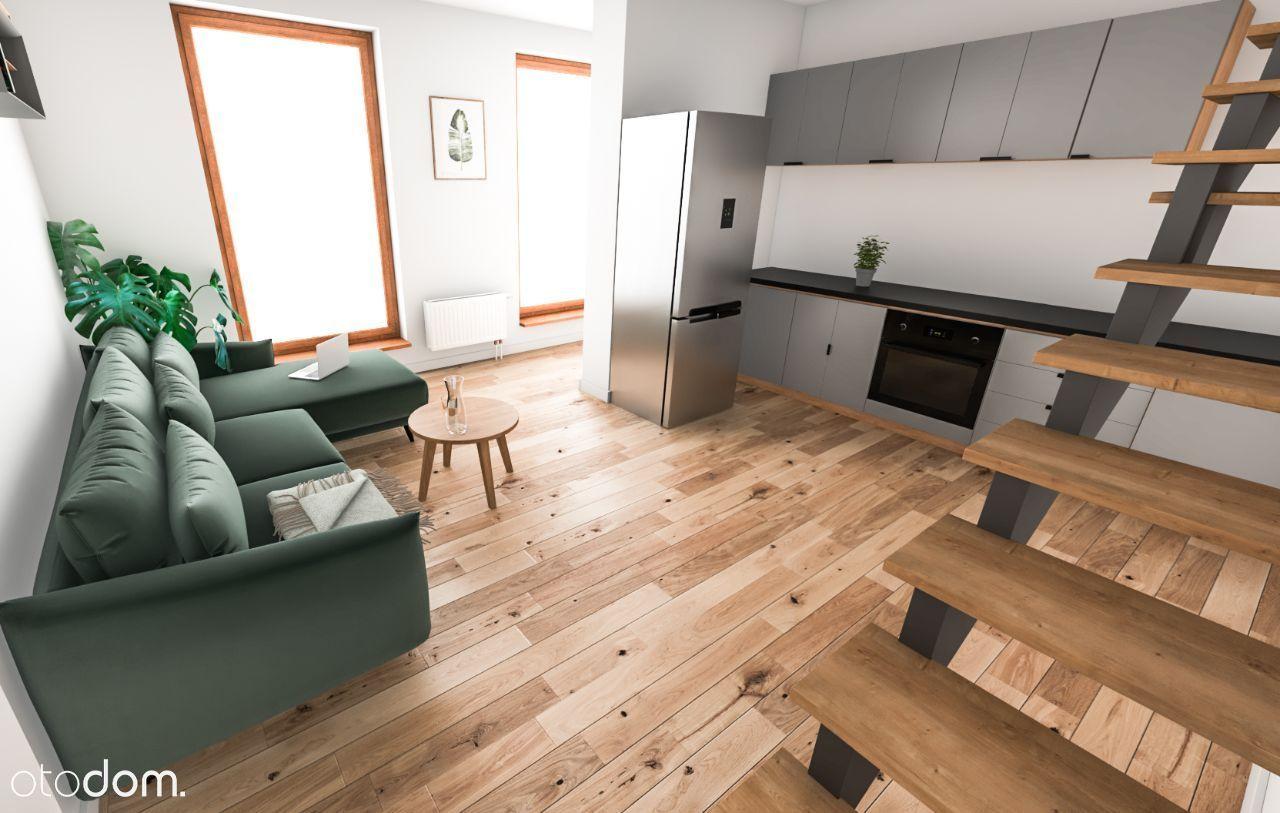 Wysokie -4.8m, ciche, loftowe mieszkanie w centrum