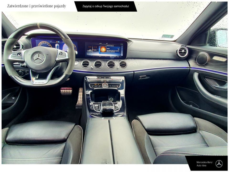 Mercedes-Benz Klasa E Mulibeam Led/distonic plus/Panorama/ FV 23% - 14
