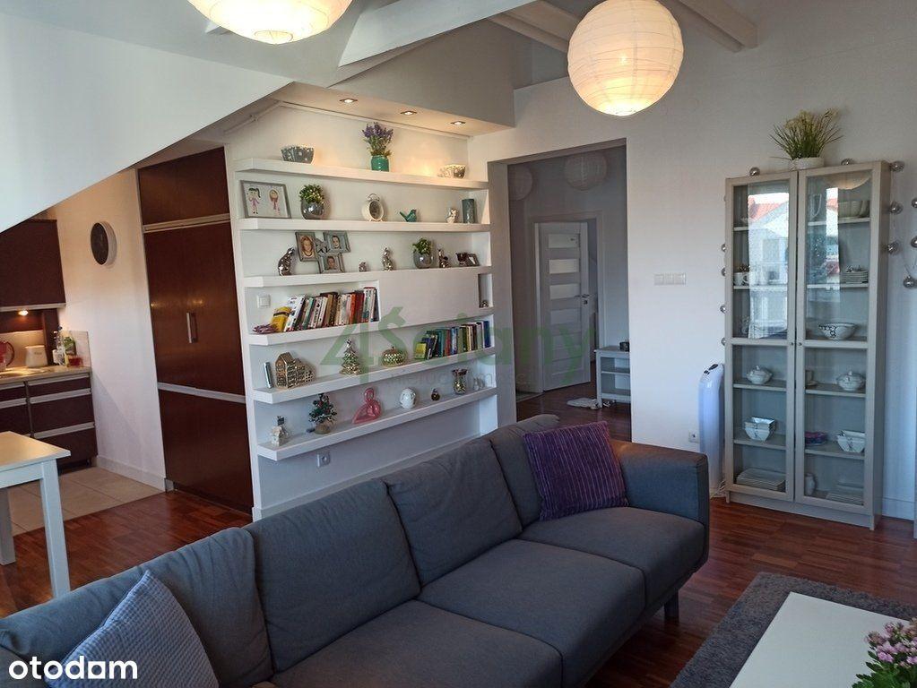 Nietuzinkowe, jasne 3 pokojowe mieszkanie 67 m2