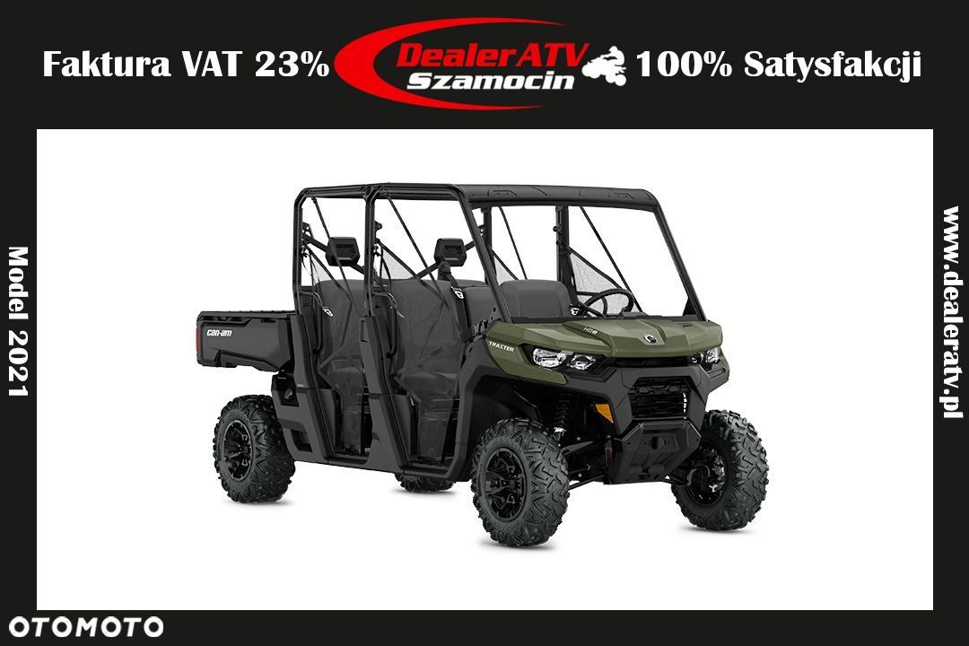 Can-Am  Traxter MAX DPS HD8 8RMH Model 2021 FV23% - 1