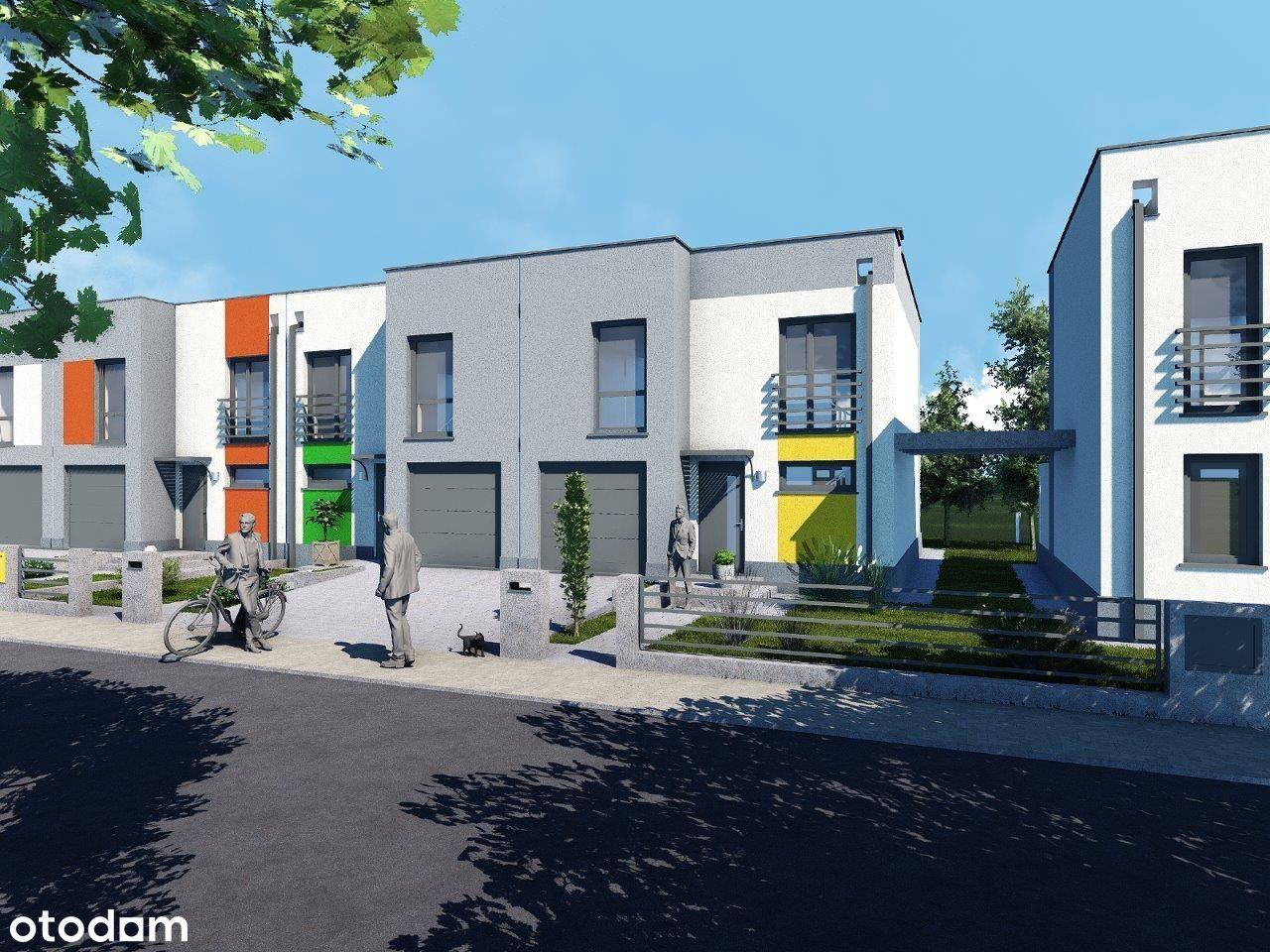 Nowa inwestycja, domy szeregowe w Głogowie