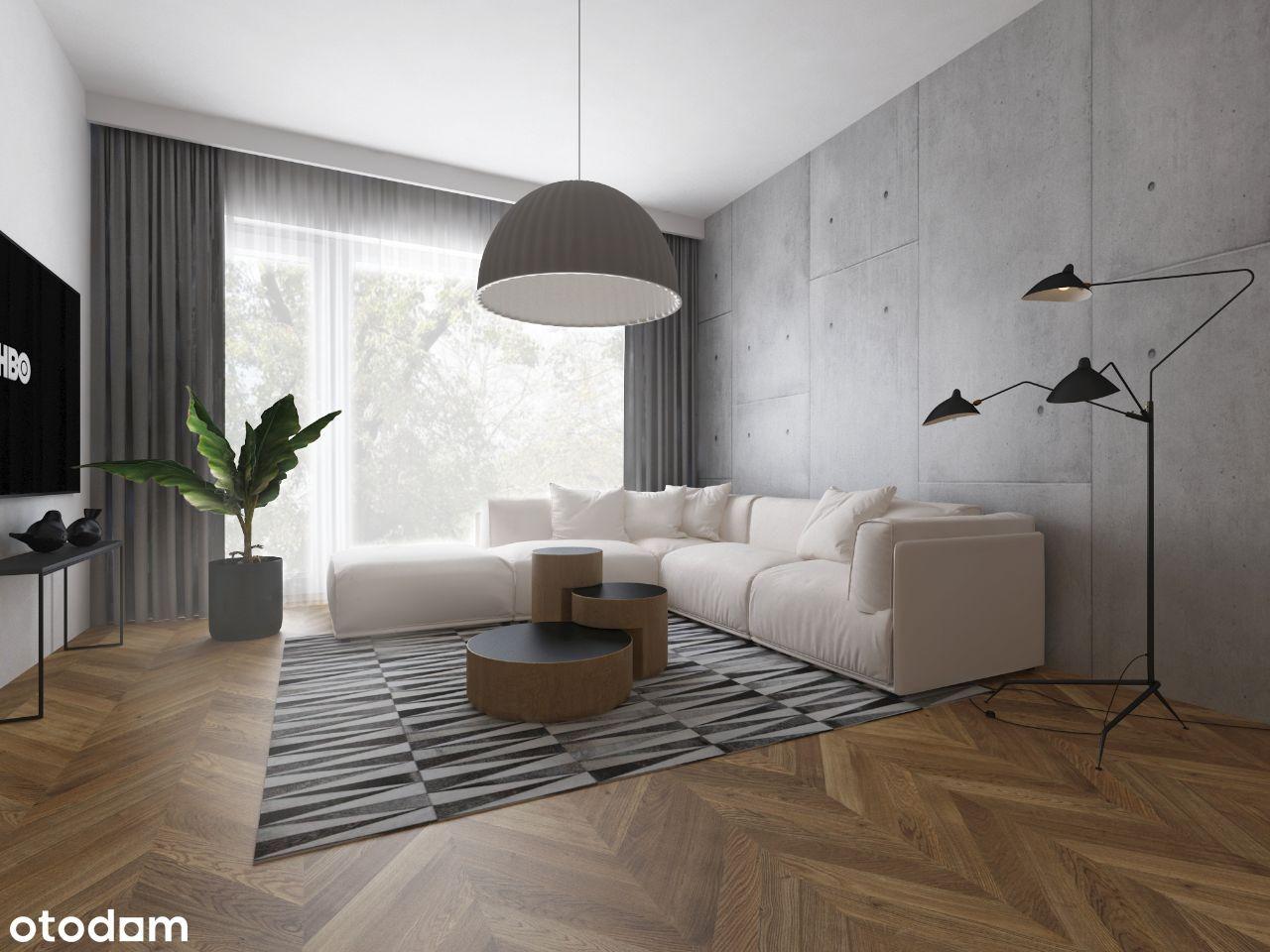 Apartament 2-pokojowy 45,26 m2 z dużym tarasem