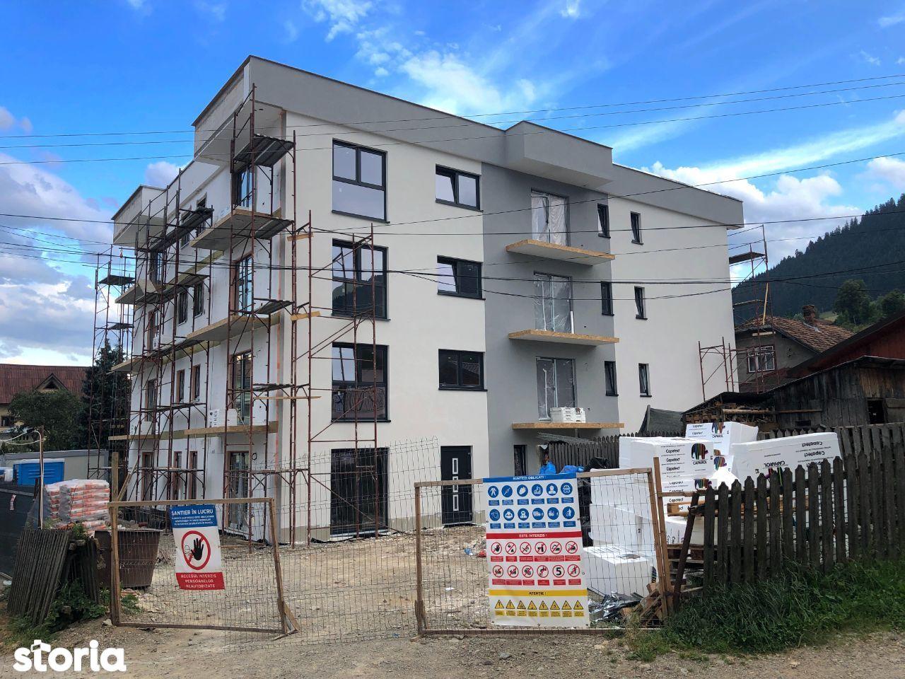 Apartament nou cu 2 camere, zonă centrală - ERSTE HAUS
