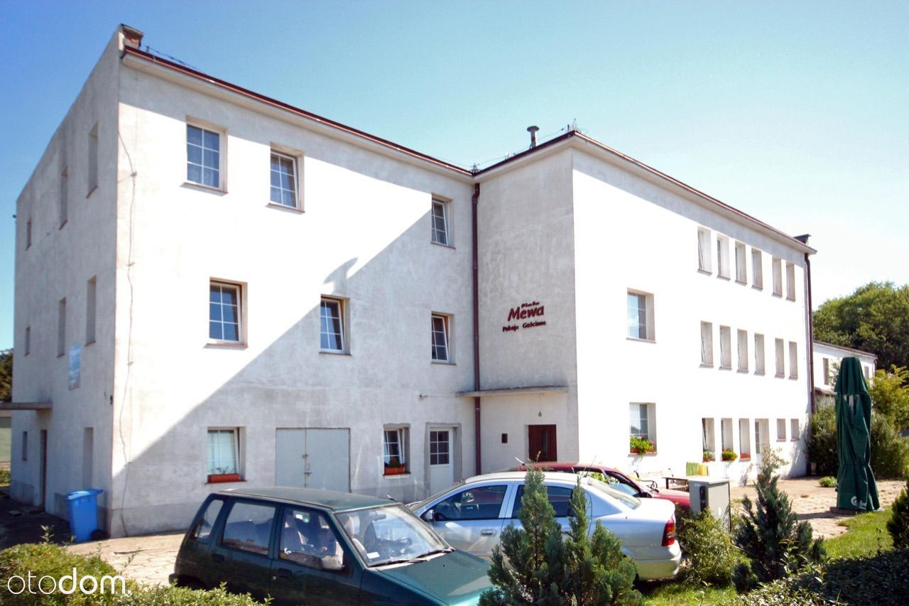 Pensjonat w Darłówku wschodnim na terenie portu