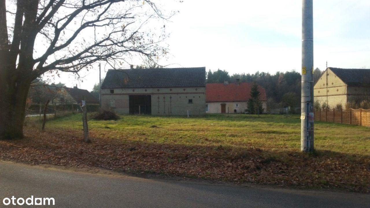 Uzbrojona działka budowlana - Trzebule gmina Dąbie