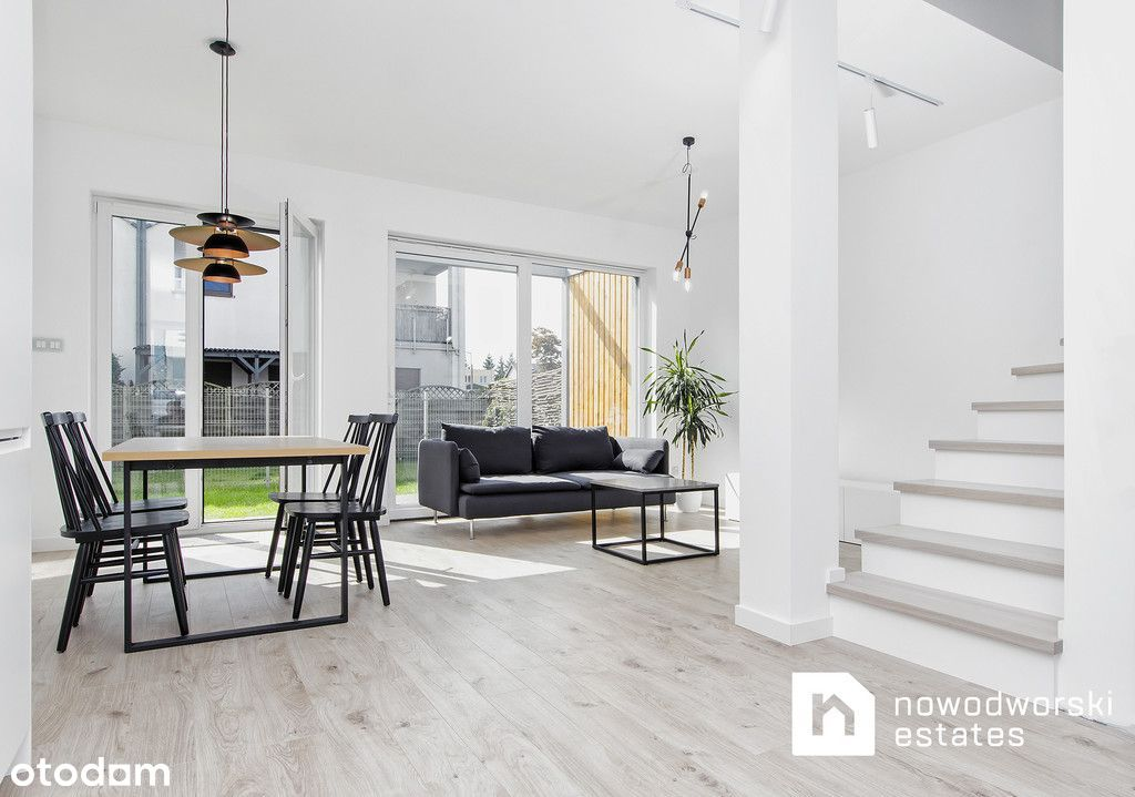 Nowy dom w zabudowie szeregowej na wynajem