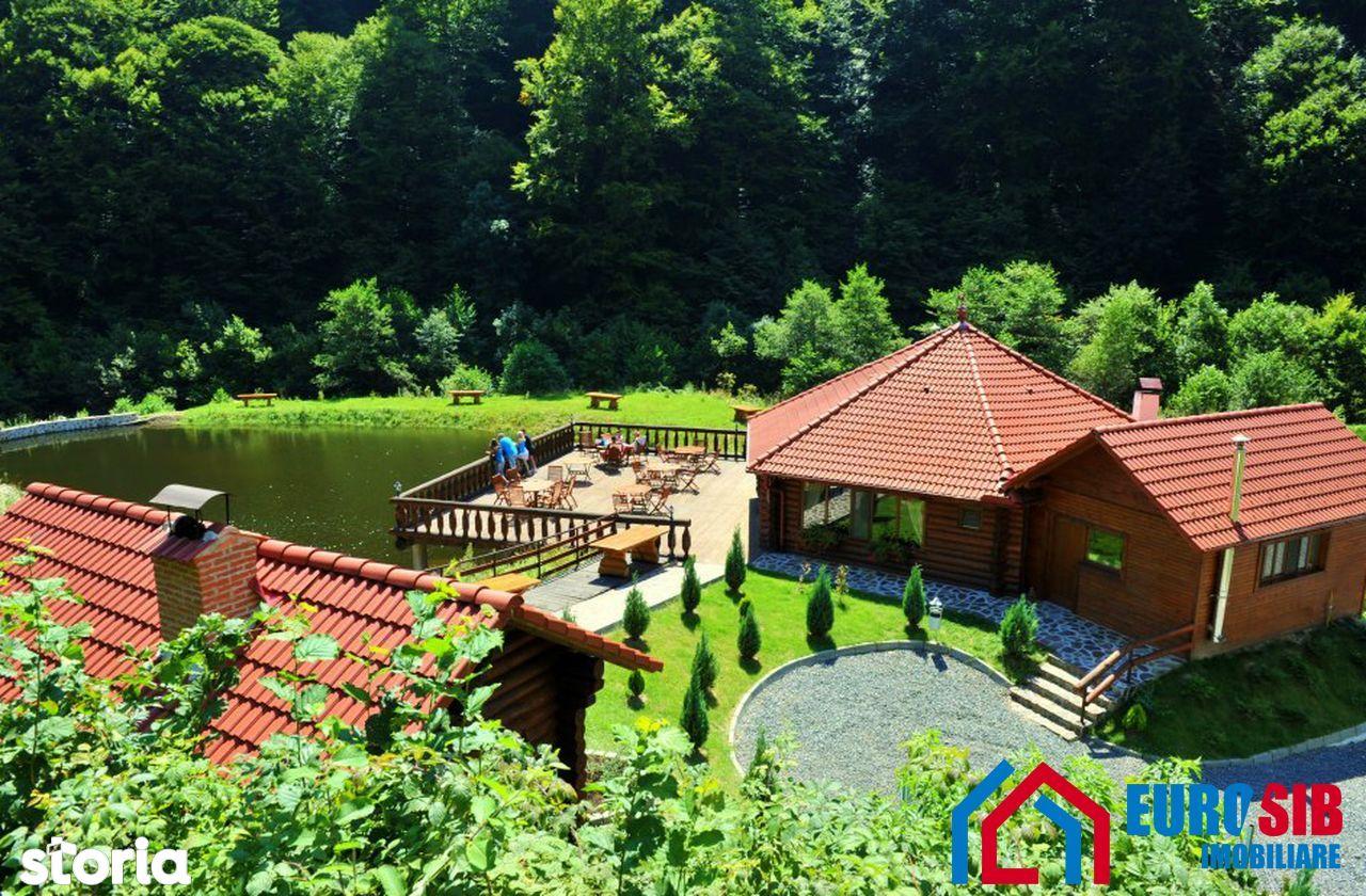 Complex turistic de închiriat in Sibiu zona Gura Raului