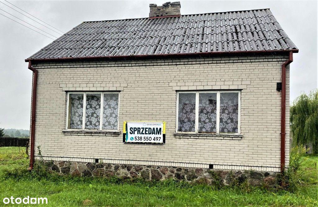 Dom z działką rolno budowlaną,Krystyna k.Garwolina