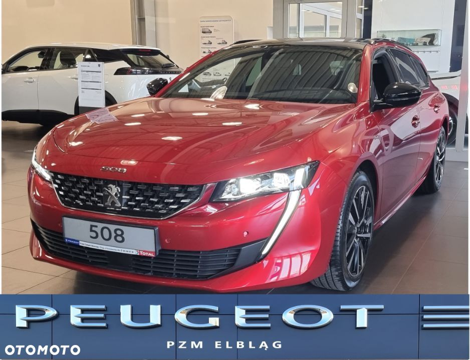 Peugeot 508 SW GT 1.6 Benzyna PureTech 180 KM S&S EAT8 - 1